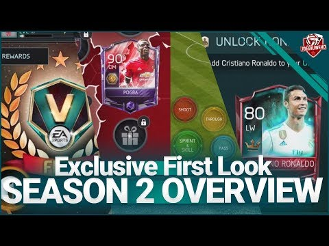 FIFA MOBILE 18 S2 EXCLUSIVE FIRST LOOK | FREE RONALDO, ICONS, PACKS, GAMEPLAY, EVENTS & MORE