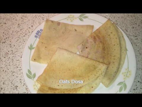 Oats Dosa Recipe / Oats Dosa in Telugu Photo Image Pic