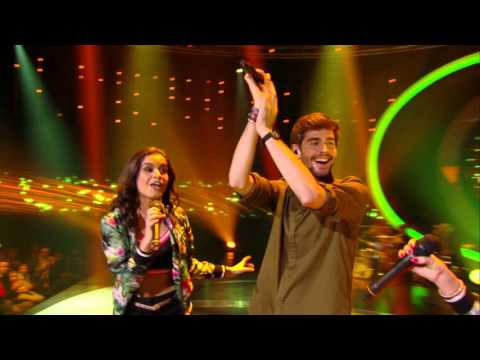Jindra en Marthe zingen 'El Mismo Sol' met Alvaro Soler | K3 zoekt K3 | SBS6