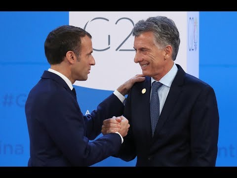 Argentinan President launches G20 summit launches in Buenos Aires