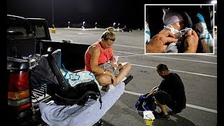 Baby born after Hurricane Michael starts life in Walmart parking lot - Daily News