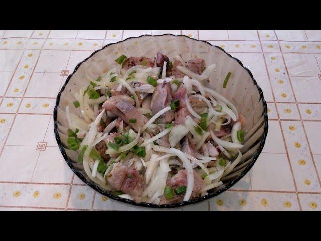 Как сделать маринад к селедки
