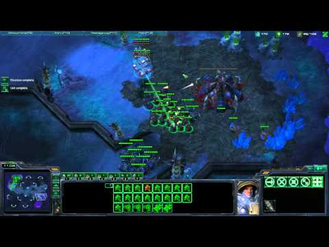 Starcraft II - Terran Tutorial Working up from Bronze League - Part1
