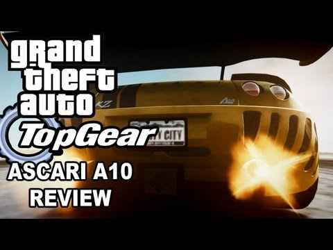GTA IV Top Gear Remake Ascari A10 review