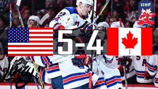 Canada vs USA | 2017 Gold Medal Game IIHF World Junior Championship | (TSN) Jan. 5 , 2017