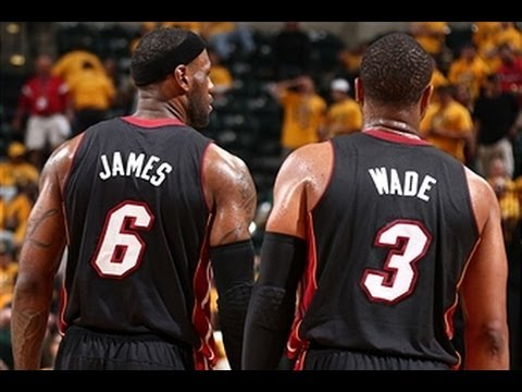 LeBron and D-Wade Torch the Pacers in the 4th Quarter of Game 2