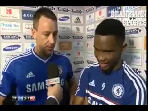 John Terry and Samuel Eto'o Post match interview - Voice Over