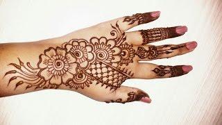 Mehndi design new style on hands মেহেদি ডিজাইন 2016 All the best style ...