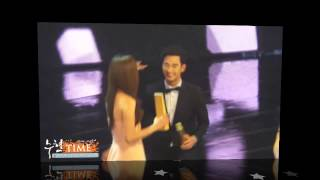 Download Lagu Kim Soo Hyun & Jun Ji Hyun ~ Sweet Moments Part 2 @ 50th Baeksang Art Award 2014 Gratis STAFABAND