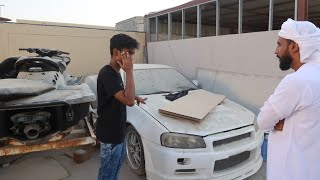 BUILDING A FAKE NISSAN R34 SKYLINE IN DUBAI