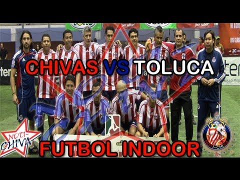 Noti-chiva   Futbol Indoor: Chivas 12-10 Toluca video