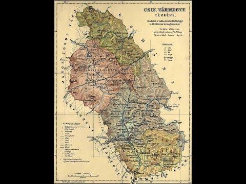 Csík - A Magyar Szent Korona Országainak vármegyéi