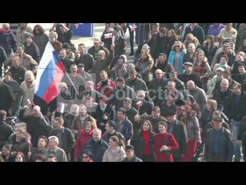 UKRAINE:DONETSK STREET DEMOS