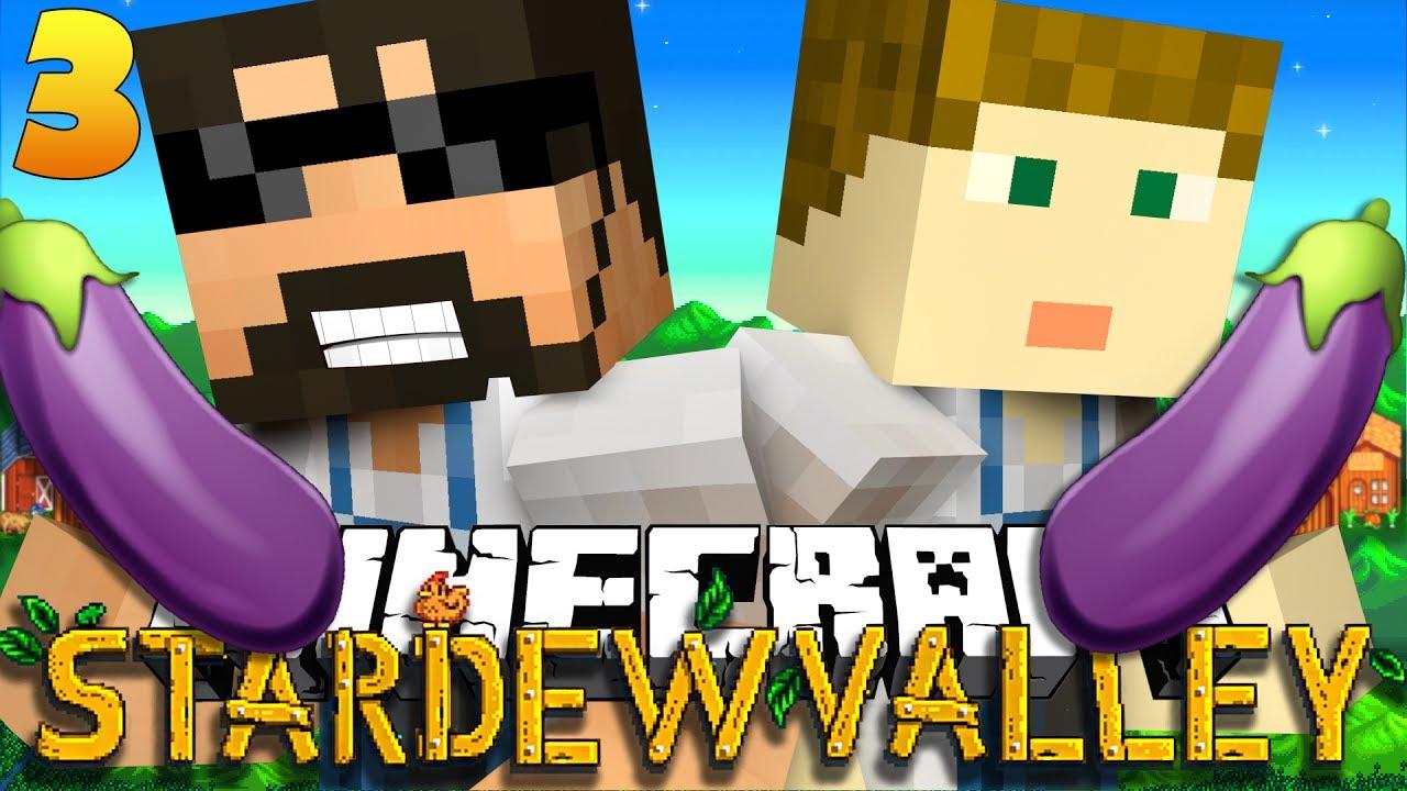 Minecraft: STARDEW VALLEY   EGGPLANT EMOJI?! #3