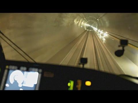 Самый длинный тоннель в мире открылся в Швейцарии (новости)
