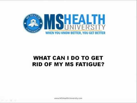 how to get rid of muscle fatigue