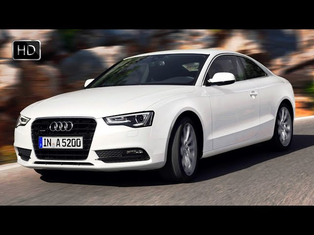 Audi A5 Quattro Coupe with V6 2.0 TDI Engine Test Drive HD
