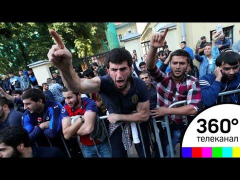 В Москве у посольства Мьянмы проходит митинг против гонений на мусульман в стране