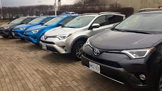 Toyota Rav4 hybrid 2016: small introduction and walkaround