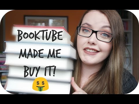 BOOKTUBE MADE ME BUY IT $ Ich wurde angefixt! l ItsMedea