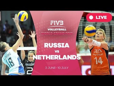 Russia v Netherlands - Group 1: 2016 FIVB Volleyball World Grand Prix