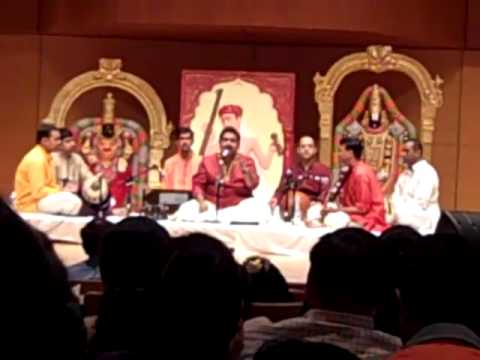 Shankar Mahadevan At Cleveland Aradhana 2011 video