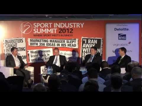 Sport Industry Summit 2012: CEO panel