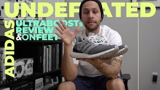ADIDAS UNDEFEATED ULTRABOOST REVIEW / ON FEET