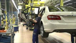 Mercedes Benz 125 Years of  Innovation E-Class Production Sindelfingen