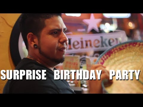Public Prank - Surprise Birthday Party