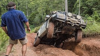 Wild Bush to Beach 4WD Adventure! Coffs Harbour - Wheel Lifts, Slippery Mud, Climbs, Amazing Camping