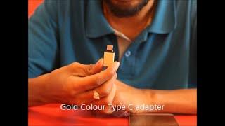 LeTv Le1S Type C OTG USB Test