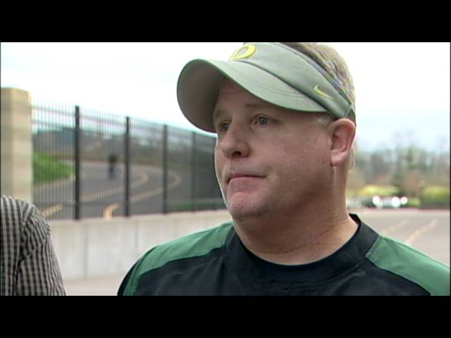 Chip Kelly Post-Practice (12/7/12)