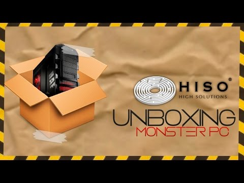 Unboxing   Mega super PC Gamer de bean3r