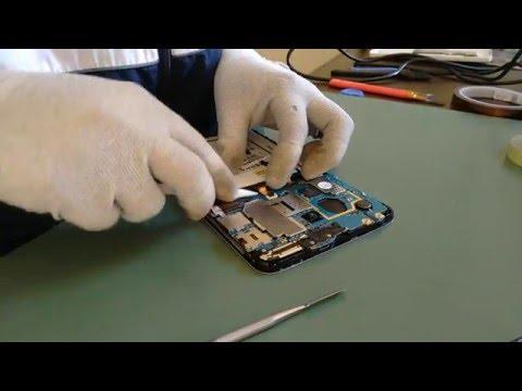 Troca Conector Slot de SimCard Chip Galaxy Tab 3 Lite T111