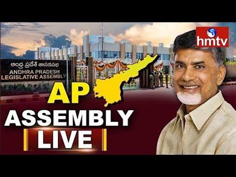 AP Assembly Budget Session 2019 LIVE | AP Assembly LIVE | Chandrababu | hmtv