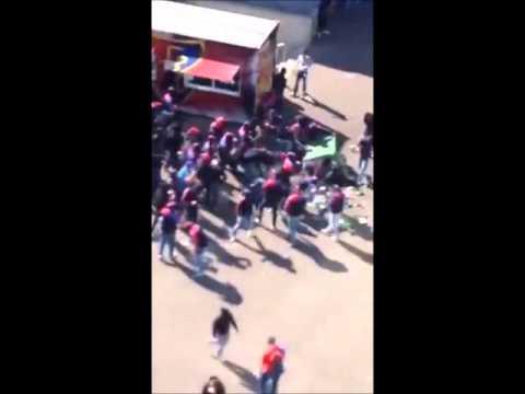 Part 3. Riots after the match FC Basel - FC Zurich 10.04.2016