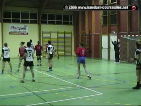 CHBC +16F 1A Courseulles sur Mer - Alençon - 5 décembre 2009 - Courseulles HandBall Club