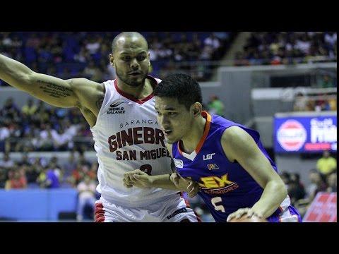 NLEX VS. GINEBRA - Q3 | Philippine Cup 2015-2016