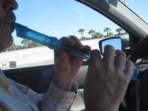 Feb. 2013 ~ Magical Flute Player, Under the Influence of Music ~ Driving in the Car