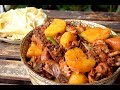 Dapanji with Hand Pulled Kudaimian Noodles - Uyghur Big Plate Chicken (大盘鸡/چوڭ تەخسە توخۇ قورۇمىسى) MP3