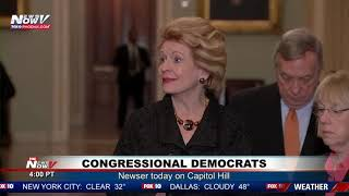 DAY 25: Congressional Democrats Speak on Capitol Hill During Government Shutdown