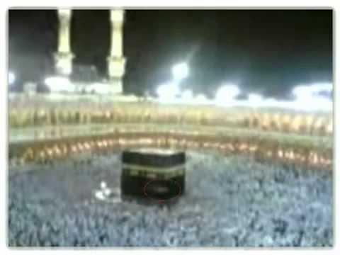 Malaikat tertangkap kamera di atas Ka bah Mekkah