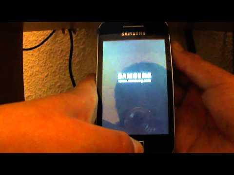 Como Hacer el Root a Tu Samsung Galaxy Ace Con Gingerbread Oficial !