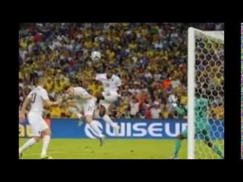 France 2 Vs Nigeria 0 Knock Out Stage , Fifa world cup 2014