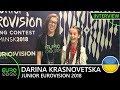 UKRAINE Darina Krasnovetska Say Love INTERVIEW Junior Eurovision 2018 mp3