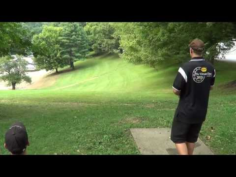 Sept 15 2013 disc golf mars hill college chain-out J-Bird