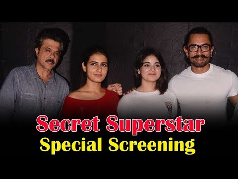 download lagu Aamir Khan`s Secret Superstar Movie Special Screening  Anil gratis