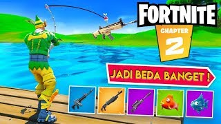 WOW Fortnite Android Jadi Kayak Gini Sekarang ! - Fortnite Mobile Chapter 2 Indonesia