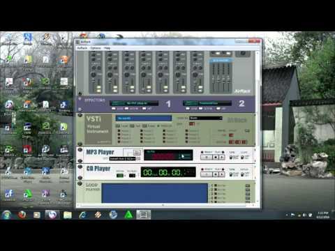 SOFTWARE AUDIO MIXER free amplifier DIGITAL AIR RACK # 3